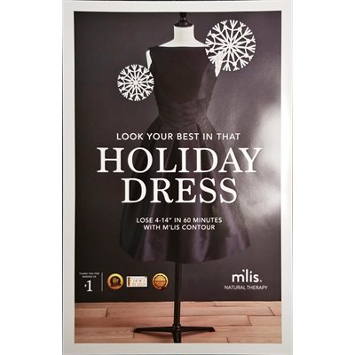 M'lis Holiday Dress Poster (11 x 17)