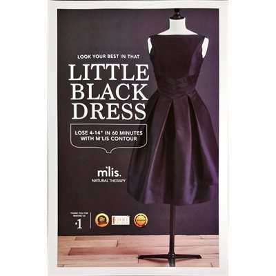 M'lis Little Black Dress Poster (11 x 17)